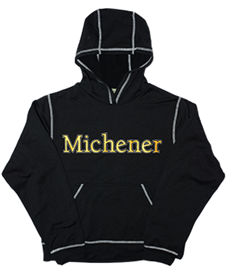 Recycled Polyester Fleece Lined Hoodie